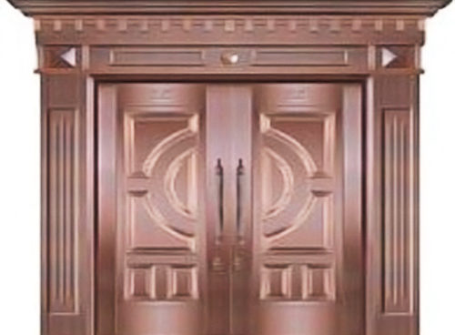 Luxury Copper Door